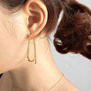 シルバー 925 シルバーピアス 14金メッキ Silver earring ◆メール便対応可◆