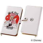 【Disney】スマホケースマルチタイプ 和スタイル ミニーマウス