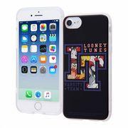 iPhone 8/7/6s/6 ルーニー・テューンズ/TPUソフトケース レイヤーアート/ルーニー・テューンズ