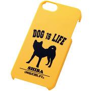iPhone5/iPhone5sスマホケースハードケース ドッグシルエット 柴犬