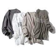 初春新作メンズTシャツ トップス おしゃれ ゆったり♪全4色