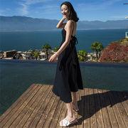 春に入る前の準備 推薦デーリー・ウェア 気質 韓国ファッション  ボヘミアン  新しい海辺の休日 スカート
