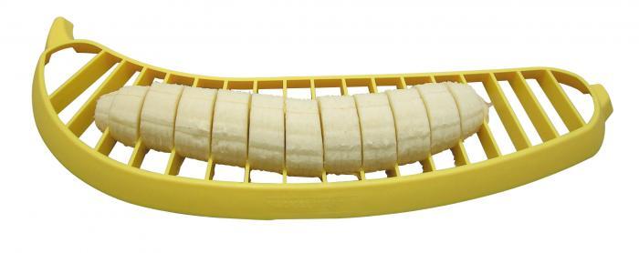 42087 ファニーキッチン・バナナカッター イエロー