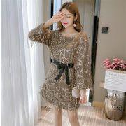 限定SALE インスタでも話題  韓国ファッション  CHIC気質  新品  気質  ボトミングドレス  女性