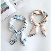 スカーフ 春秋 韓国風 花柄 定番 レディース ファッション