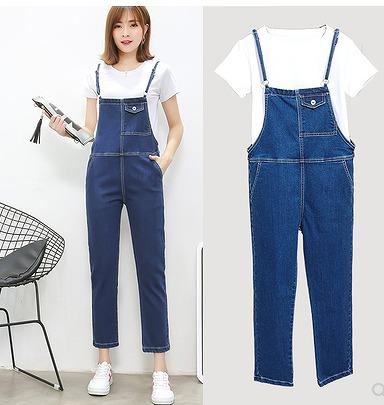【大きいサイズ3XL-6XL】【春夏新作】ファッション/人気/2枚セットジーンズ