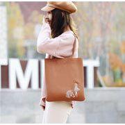 バッグ エコバッグ トートバッグ PU ラブラブ ファッション 学生 韓国 ショルダーバッグ