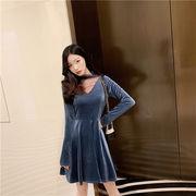 限定SALE価格!見逃し禁止!! 韓国ファッション  CHIC気質  大人の魅力  セクシー  ドレス  ボトムドレス