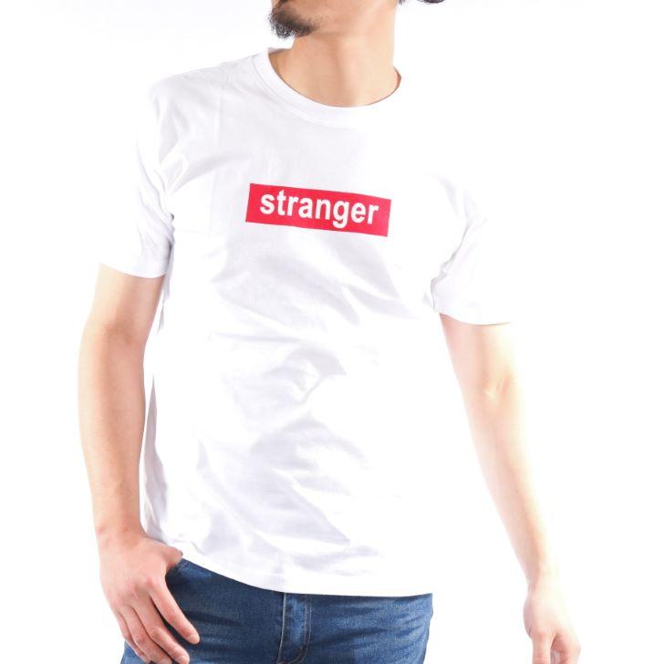 【2019春夏新作】 半袖Tシャツ メンズ クルーネック プリント ボックスロゴ ロゴプリント 春 夏