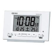 (クロック/ウォッチ)(目覚まし時計)セイコー 常時点灯電波目覚まし SQ778W