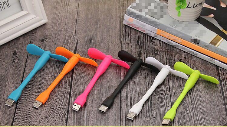 扇風機・USB扇風機 デスクファン エコ 節電 色選択可能 手持ち送風機 小型で軽量なデザイン  電源付き