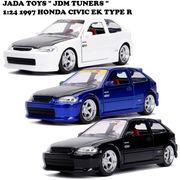 JADATOYS 1:24 1997 HONDA CIVIC EK Type R ミニカー【3色チョイス】
