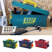 生活 雑貨 BRISK MART ツールボックス DIY アメリカン雑貨 大掃除