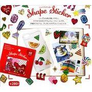 シェイプステッカー【Shape Sticker】 8柄 ※2018_8月8日発売