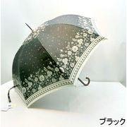 【晴雨兼用】【長傘】UVカット率99%!スワロウテール柄大寸晴雨兼用ジャンプ傘