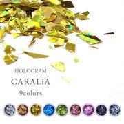 最高級な輝きが美しい ホログラム 【CARALiA -キャラリア- 9色】 ネイル レジン ハンドメイド
