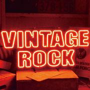 アメリカン雑貨 看板 ネオンサイン VINTAGE ROCK ヴィンテージロック
