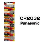 パナソニック リチウムボタン電池 CR2032 5個セット 1シート 日本メーカー 逆輸入