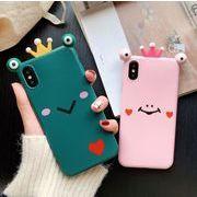 iphoneXsMAX X XR Xsケース  カエル王子様保護ケース iphone11promax