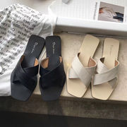 サンダル スリッパ フラットシューズ 韓国ファッション ビーチ