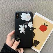 しっかり保護シンプルスタイリッシュiPhoneケース★白花 iPhone11promax