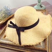 帽子 麦わら帽子 レディースファッション 日焼け止め UVカット ハット 夏