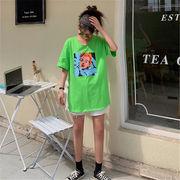 初回送料無料 2019セクシー ゆったり Tシャツ 大人気 全2色 dyibh-1903az73春夏 新作
