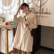 第1 番 ピープル ホーム 女性服 韓国風 ルース レジャー 何でも似合う ロング レト