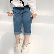 キッズ洋服 春秋 新しいデザイン 男女 赤ちゃんのズボン 小中児童 フィート 個性 何で