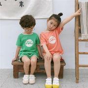 キッズ Tシャツ 半袖 格安 半ズボン スラックス セットアップ 上下2点 SALE 男の子 韓国子供服