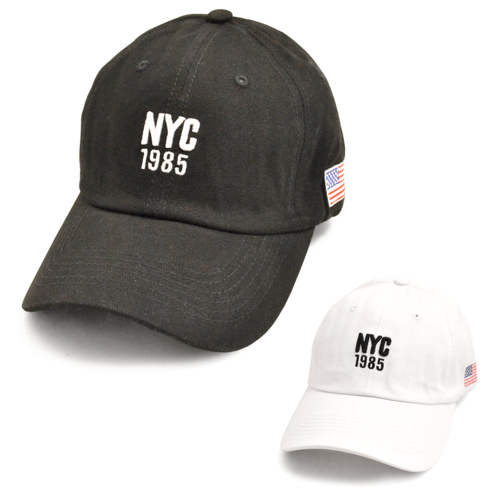 ▼MAGGIO▼【COOL&CUTE】大人気のマストハブキャップ☆ NYC1985刺繍入りキャップ(帽子)