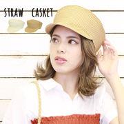 ペーパーキャスケット マリンキャスケット ストローキャスケット 帽子 キャップ HAT ツバあり