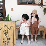 キッズ 半ズボン デニム 格安 ロンパース ストリート 短パン ストリート 女の子 男の子 韓国子供服