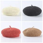 新発売 麦わら帽子 ベレー帽 バイザーハット 帽子 レディース UVカット ハット サンバイザー