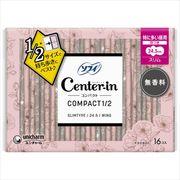 センターインコンパクト 1/2 無香料 特に多い昼用 16枚 【 生理用品 】