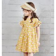 【韓国ファッション】 ワンピース 子供服 キッズ 児童 半袖 夏 韓国 ファッション