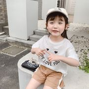 【韓国ファッション】 Tシャツ 子供服 キッズ 児童 夏 半袖 韓国 ファッション