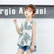 【韓国ファッション】 Tシャツ 子供服 キッズ 児童 夏 韓国 ファッション