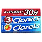 モンデリーズ・ジャパン 〈クロレッツXP〉クリアミント 粒 3P