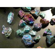 チャルコパイライト 極小原石 50g量り売り 黄鉄鉱 chalco Pyrite さざれ石 メキシコ産