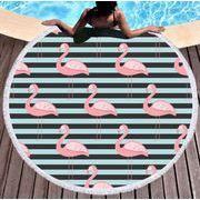 夏新作  ビーチマット ヨガマット ラウンドマット ビーチタオル 砂浜タオル 吸水性有り