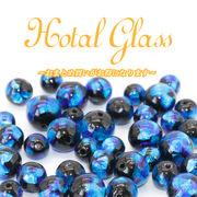 ホタルガラス◆ブルー色◆