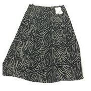 ゼブラプリントスカート&ベロアスカート