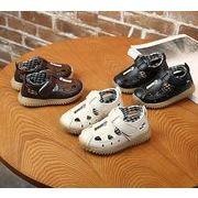 【子供靴】ベビー靴 サンダル 可愛いデザイン 穴あき 12.8-11.5cm シューズ 男の子