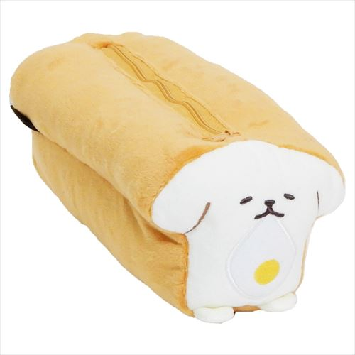 【ペンケース】いーすとけん。 食パン型ぬいぐるみペンケース/ゴールデントースト
