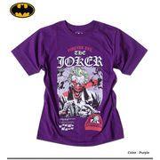 ★大人気アメコミ バットマンシリーズの悪役「ジョーカー」のプリントが迫力あるJOCKERプリントTシャツ★