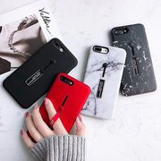 大理石柄iphoneケース リングベルト マーブル iphone8 ケース スマホケース