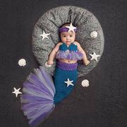ベビーコスチューム  ハロウィン 毛糸 仮装 写真撮影用 出産祝い 新生児 記念撮影 子供服