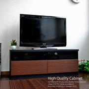 テレビ台 ローボード 105cm幅 テレビボード ブラック TV台 GTV-105BKBR