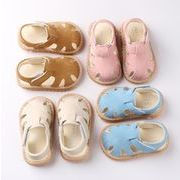 【子供靴】サンダル 男女兼用 可愛いデザイン ベビー 115-135mm 4色 シューズ キッズ靴